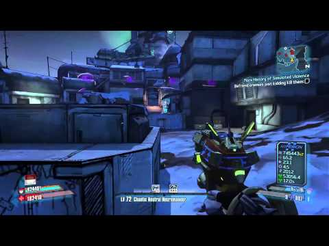 Borderlands 2 - The Raid on Digistruct Peak OP4 - Mechromancer |