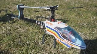 Ikarus Eco 8 Brushless R/C Helicopter in Flight
