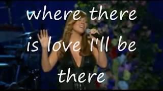 ill be there-mariah Carey (lyrics)