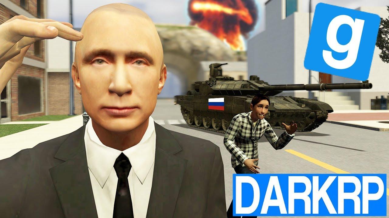 LA RUSSIE ENVAHIE LES ETATS UNIS ! - Garry's Mod DarkRP