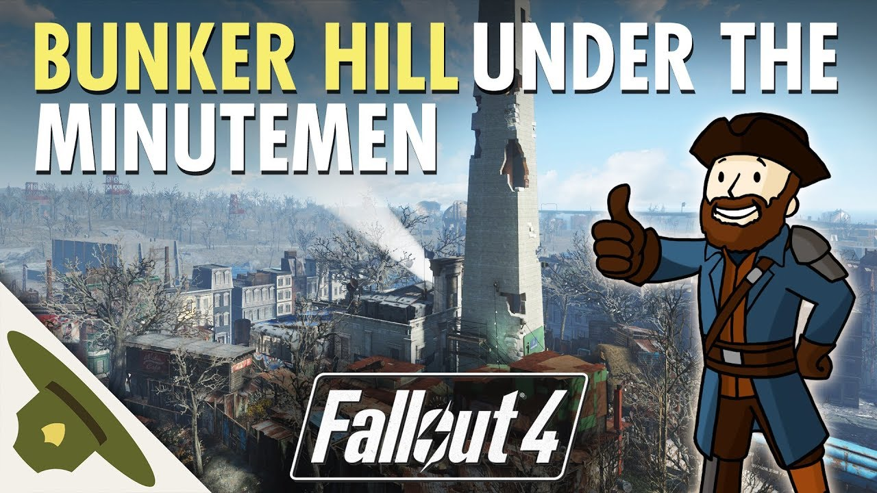 BUNKER HILL under Minutemen Control | Part 2 - Huge, realistic Fallout 4 settlement