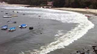 Repeat youtube video Temporal en Playa de Aguete - Marin (Dia de Reyes)