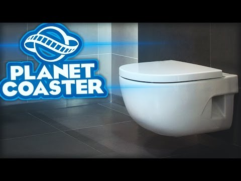 MIJN BUNKER WC! - Planet Coaster Career #5