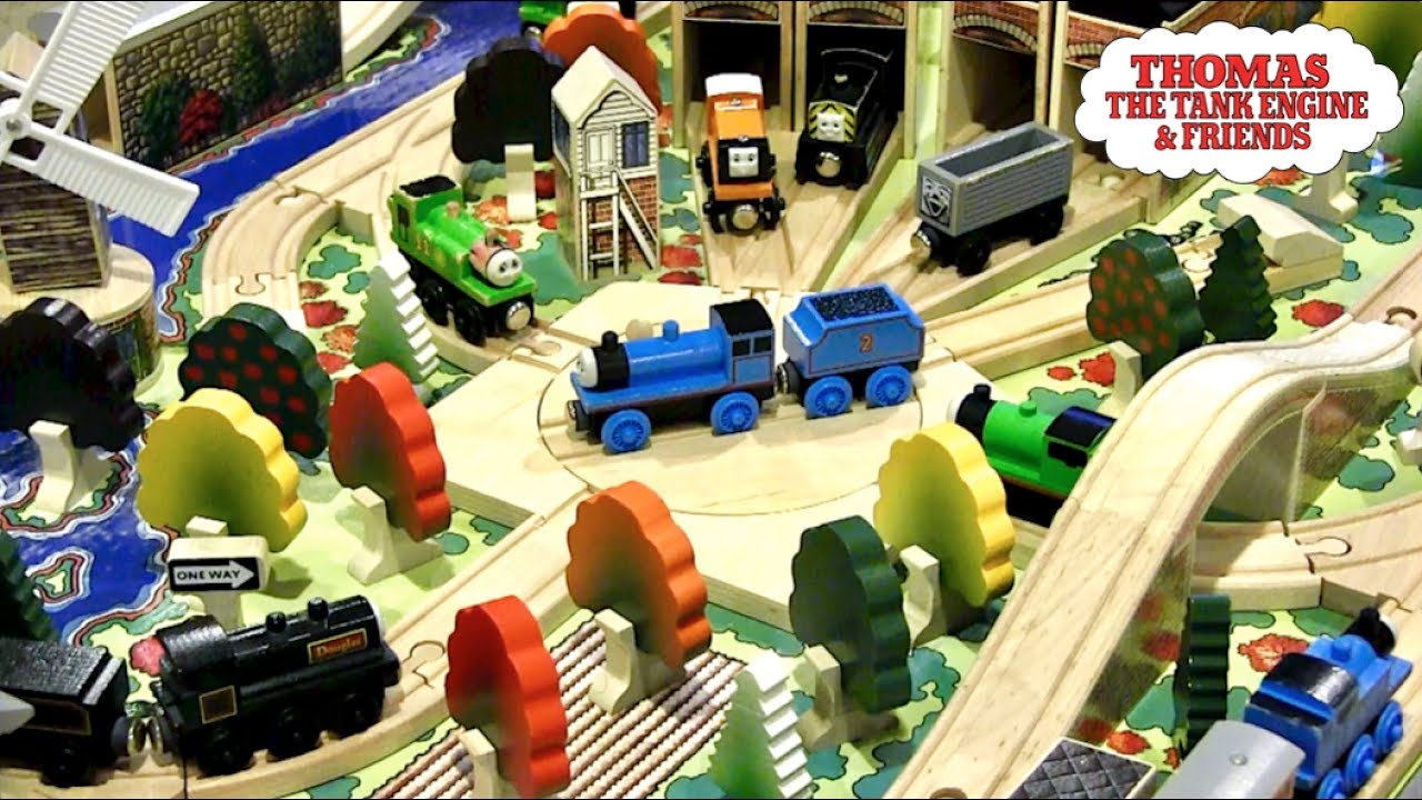 1993 100 Piece Set Review Thomas Wooden Railway Discussion 81 By Thomaswoodenrailway