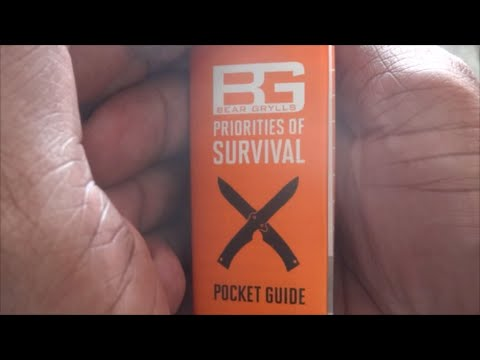 free preparedness tip 8 bear grylls priorities of survival pocket rh youtube com bear grylls pocket survival guide pdf bear grylls priorities survival pocket guide pdf