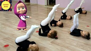 Открытый урок по художественной гимнастике. Rhythmic gymnastics Первый год обучения.