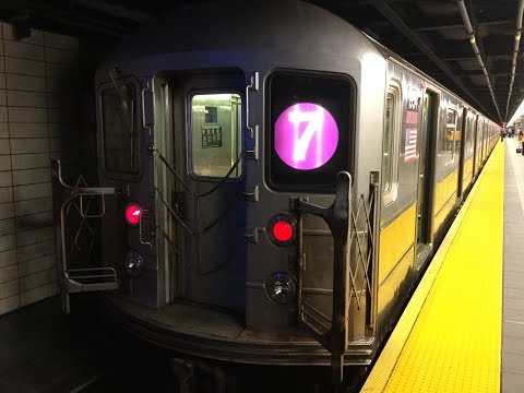 MTA NYCT R62A 7 Train RFW From Flushing-Main Street To 34th Street-Hudson Yards Round Trip & Actions