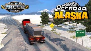 American Truck Simulator USA OFFROAD ALASKA MAP