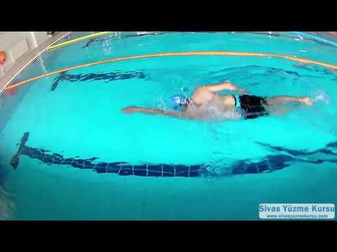 Serbest stil yüzerken nefes nasıl alınır?