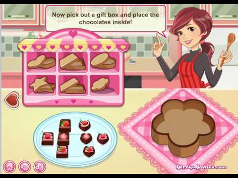 Barbie chocolate cake baking games