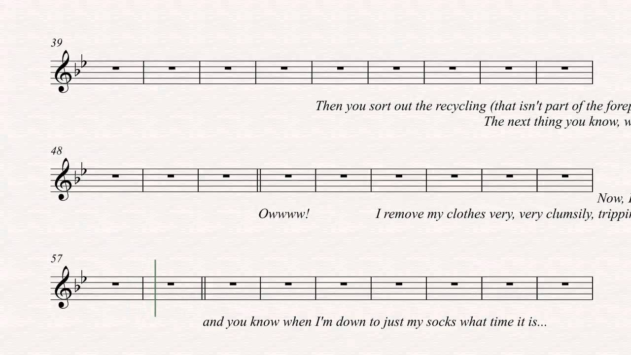 85901d1e Guitar - Business Time - Flight of the Conchords - Sheet Music, Chords, &  Vocals