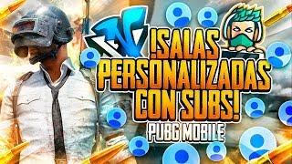 🔴*DIRECTO* Salas Personalizadas!! TeamGO vs SUBS PUBG MOBILE