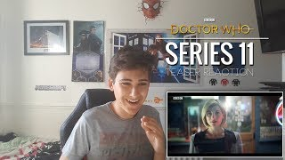 DOCTOR WHO - SERIES 11 TEASER REACTION