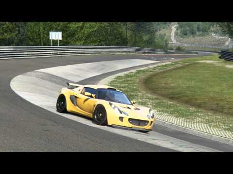 Lotus Exige 240R @ Nordschleife Replay - Assetto Corsa