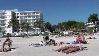 Port Alcudia Beach, Majorca October 2012