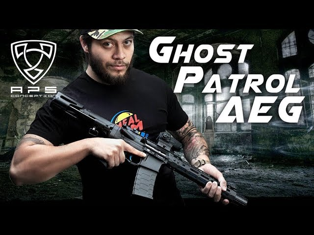 The Call of Duty: Ghosts AEG - APS Ghost Patrol AEG - RedWolf Airsoft RWTV