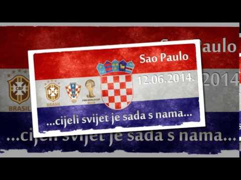 Croatia - World Cup 2014 Brazil - mix Hrvatske navijačke pjesme