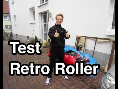 test benzhou retroroller retro roller motorroller. Black Bedroom Furniture Sets. Home Design Ideas