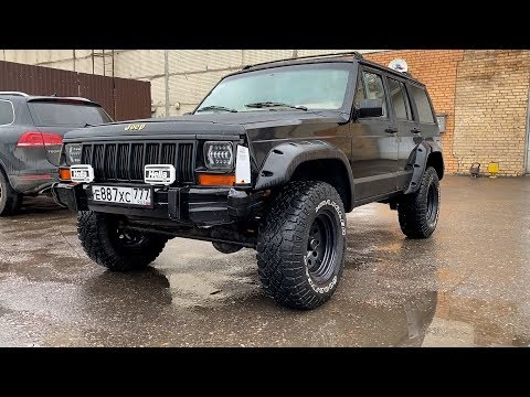 "Jeep Cherokee XJ - Кирпичик из ""Святых 90-ых"""