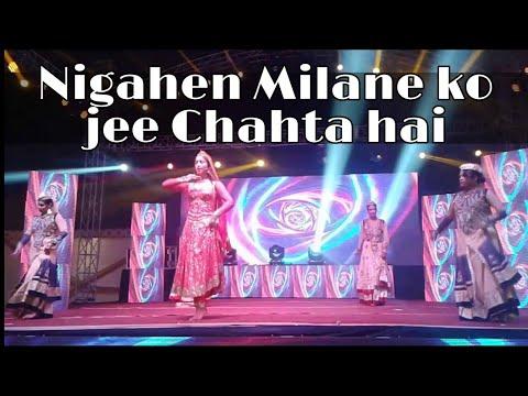 Nigahe milane ko jee chahta hai | cover dance video