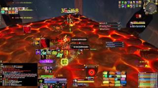 Rapid Eye Movement vs Blackhand Mythic (warlock pov)