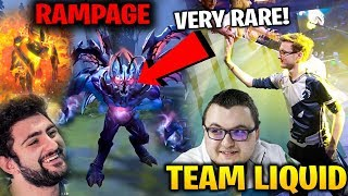 Miracle Team Liquid RAMPAGE Very Rare *NEW SET TI8 Collector's Cache
