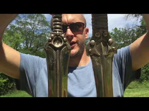 Kult of Athena Bronze Age swords review
