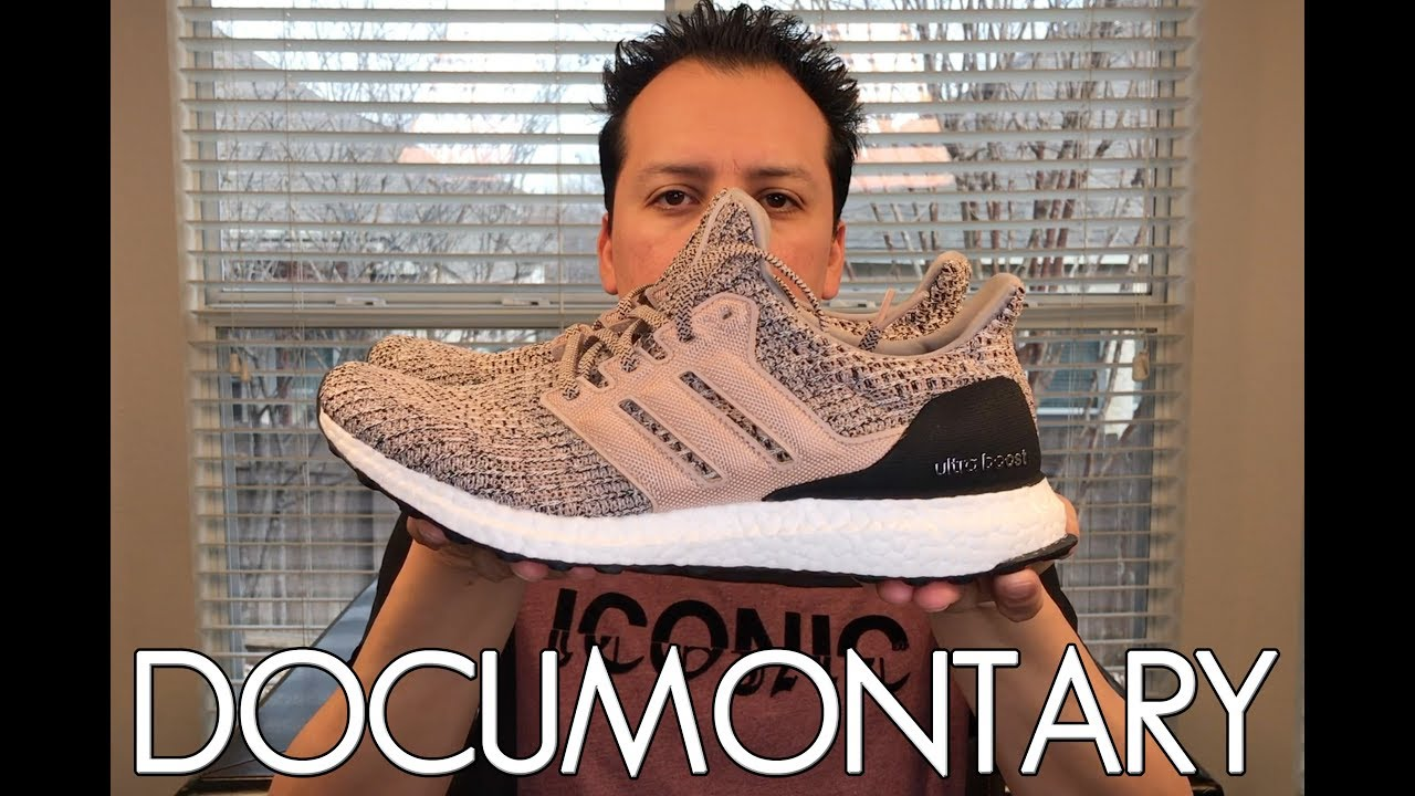 newest 9e96f 6bc33 Adidas Ultra Boost 4.0 Ash Pearl Reaction, Review,  On-Feet • How I Lace  My UB  DOCUMONTARY