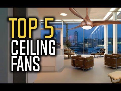 Best Ceiling Fans in 2018 - Which Is The Best Ceiling Fan?