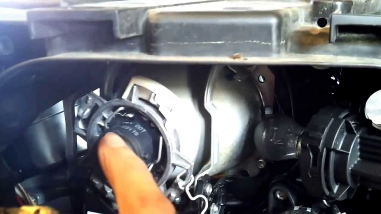 Bi Xenon Tagfahrlicht Audi A6 4f Youtube