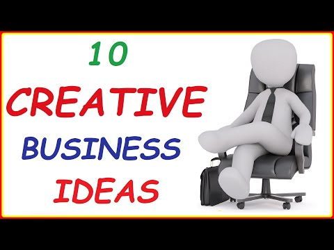 10 Creative Business Ideas ( Best Profitable Small Businesses You can Start Tomorrow to Make Money )