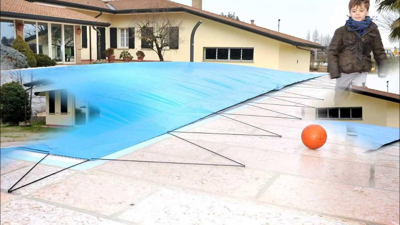 copertura gonfiabile per piscina airtex youtube