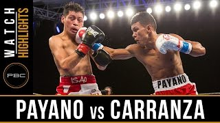 Payano vs Carranza HIGHLIGHTS: January 13, 2017 -  PBC on Spike
