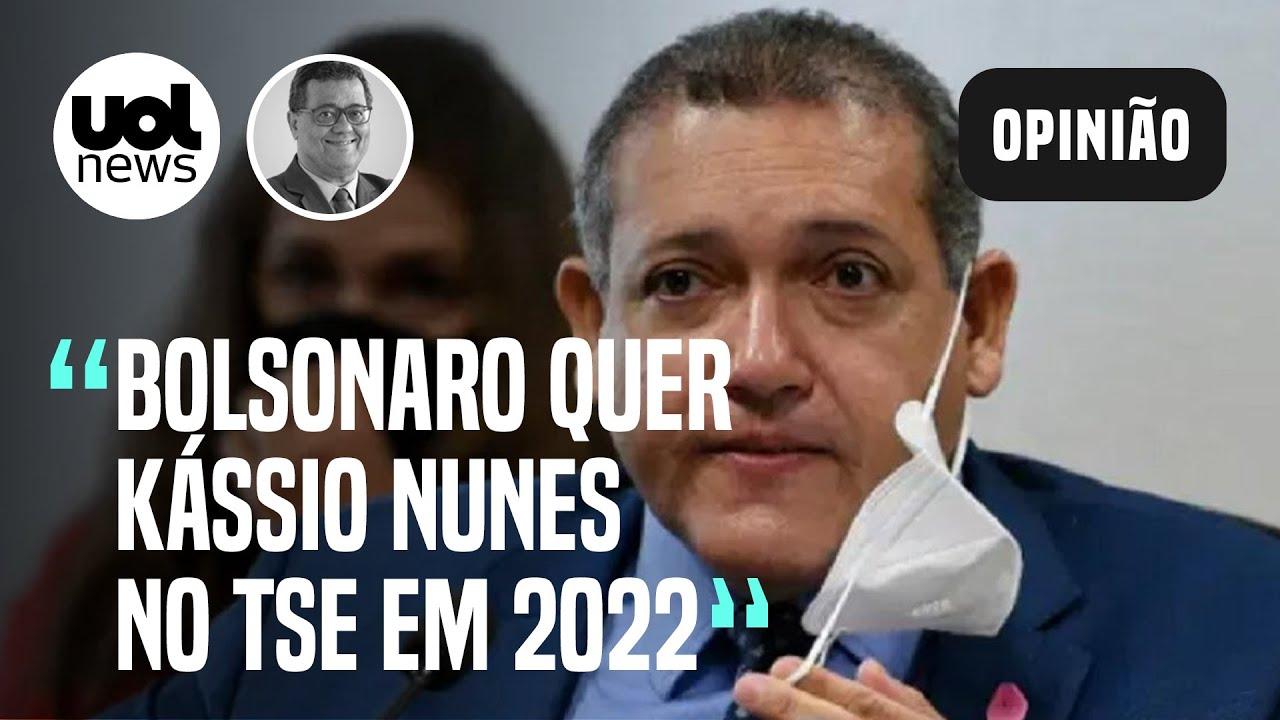 Bolsonaro quer Kássio Nunes como presidente do TSE na eleição, avalia Tales Faria