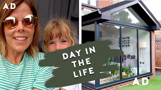A RELAXING DAY IN THE GARDEN PLUS EXTENSION AND RENOVATION CHATS | DAY IN THE LIFE | AD