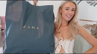 ZARA HAUL SUMMER 2018 // #FashionMumblrSummerEdit