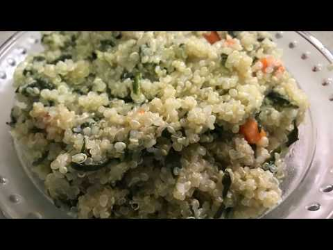 Quick And Healthy Spinach Quinoa Recipe