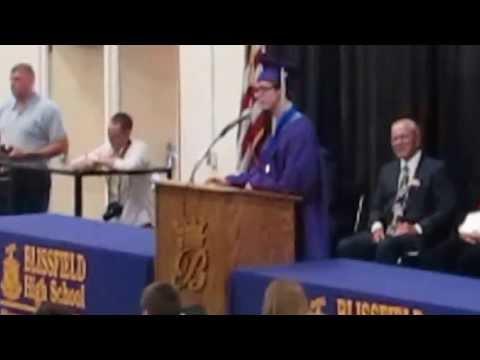 Miles's 2013 Graduation speech (Blissfield High School)