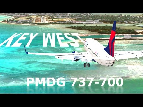 [FSX] KEY WEST LANDING - STUNNING SCENERY!