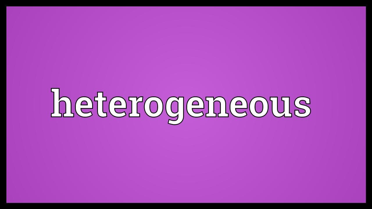 Heterogeneous Meaning - YouTube