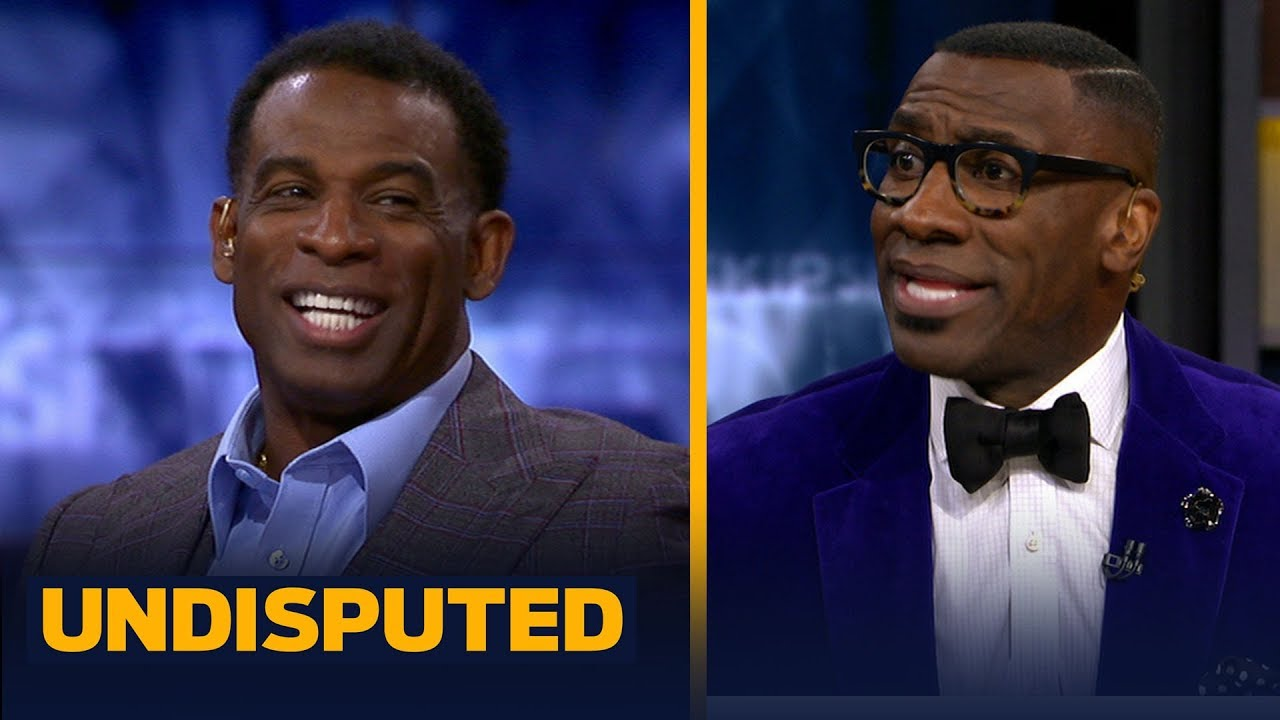 12e9c81ea8 Deion Sanders joins Skip and Shannon to talk Tom Brady's greatness ...
