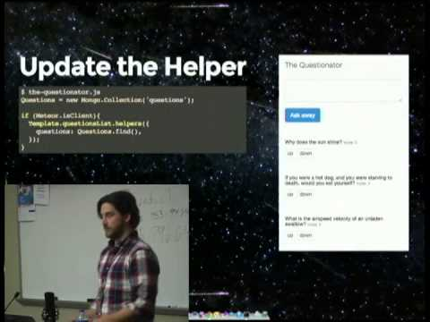 Intro to Meteor.js