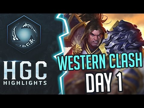 HGC Highlights - Heroes of the Storm - Western Clash Day 1