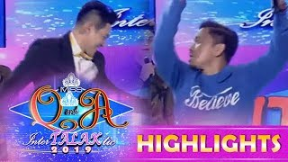 It's Showtime Miss Q & A: Jhong and Kuya Escort Ion in a dance battle showdown!