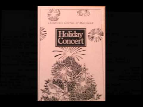 The Children's Chorus Of Maryland - Holiday Concert 1992 (Side A)