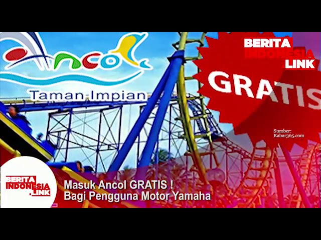 Pengguna Motor Yamaha Gratis masuk Ancol !!