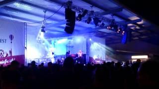 Glasperlenspiel - Tanzen den Schmerz weg - live Brauhausfest Freiberg 09.08.2014