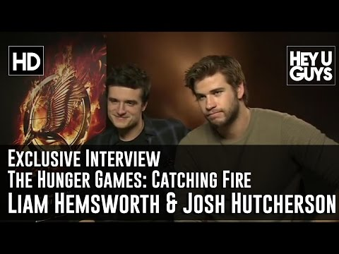 Liam Hemsworth and Josh Hutcherson Exclusive Interview - The Hunger Games: Catching Fire