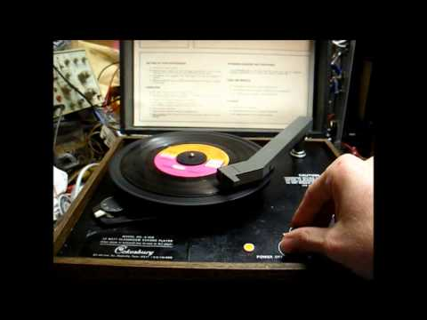 Repair of a 1975 Cokesbury classroom record player