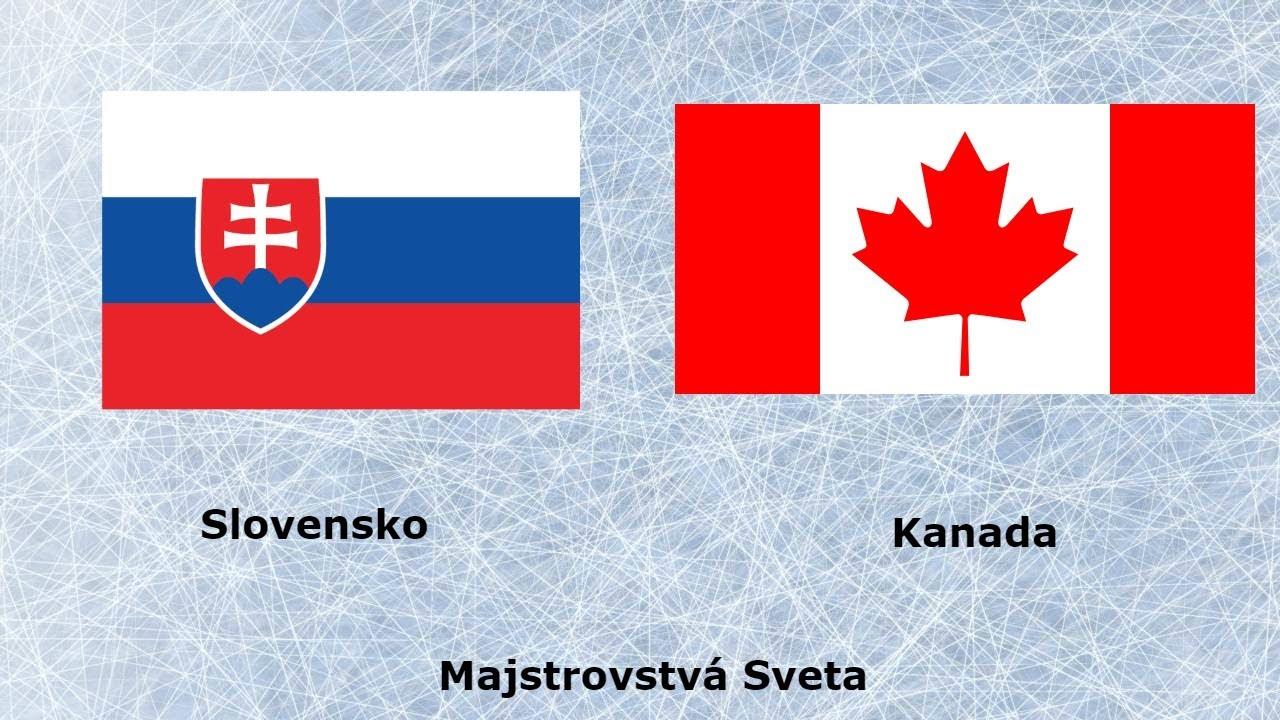 23871539d1338 Slovensko VS Kanada Majstrovstvá Sveta v Hokeji 2019 - YouTube